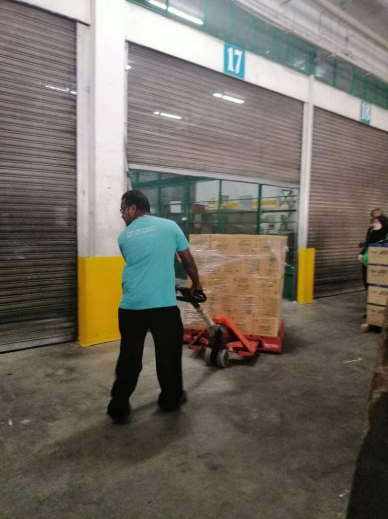 Rescuing food from Giant Supermarkets