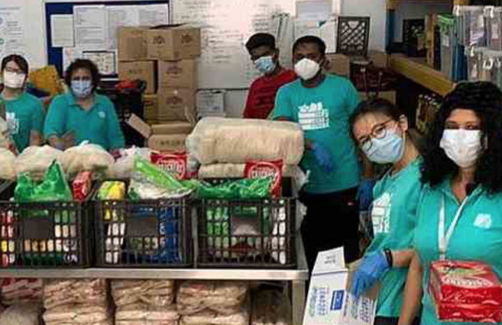 TLFP serves the needy during MCO