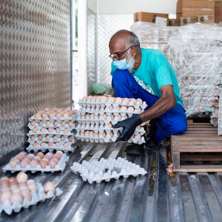 Ceva & local farmers donate 100,000 eggs to communities impacted by Covid-19